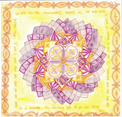 Lenten Creative Experiences – Mandala: Journey to the Center, March 16th, 4:00pm